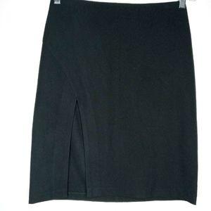Sisley Black Career Skirt -